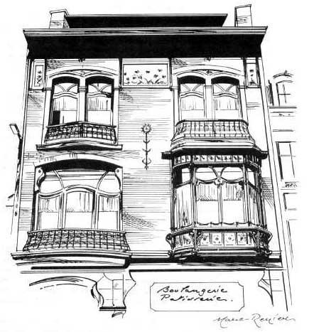 La maison charlier spa fleuron de l architecture art - Maison de l art nouveau ...