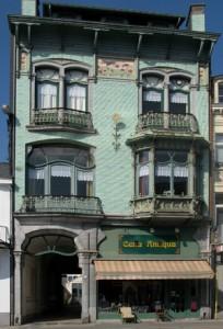 La Maison « Charlier » à Spa fleuron de l'architecture Art Nouveau.