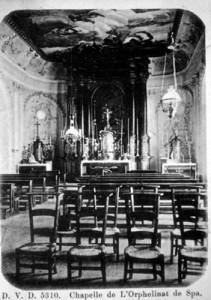 L'ancienne chapelle de l'orphelinat