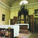L'intérieur de la chapelle de l'ancien hospice Saint Charles