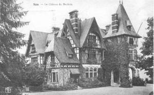 Le château du Neubois, de style anglo-normand, avenue Pelzer de Clermont, sur les hauteurs de Nivezé.