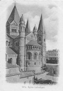 L'église décanale Notre Dame et Saint Remacle de Spa, Place Achille Salée