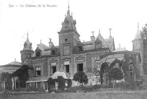 Le château de la Havette<br>Collection Musée de la Ville d'eaux