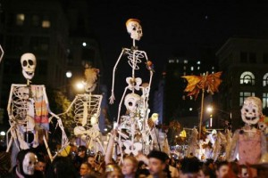 Défilé d'Halloween à New York
