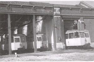 Le dépôt de tram