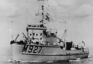 Dragueur de mines côtier M927