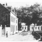 Etablissement des bains vers 1860