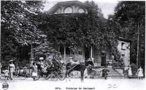 Barisart : le pavillon de 1859.