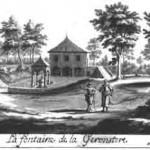 Dessin de Xhrouet antérieur à 1750