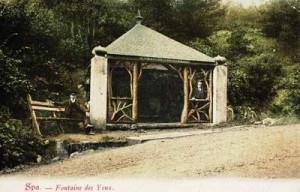 La Fontaine des Yeux vers 1900