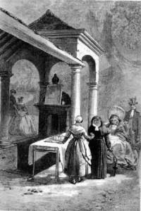 vue de la Géronstère par Th. Fourmois (1838)