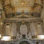 Vue des plafonds des anciens Bains rue Royale