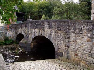 L'ancien pont de Polleur.