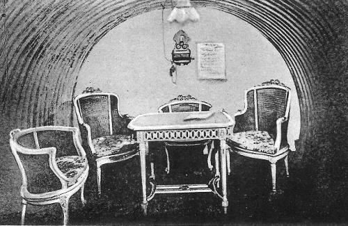 Abri du maréchal von Hindenburg à la Villa Sous-Bois (carte postale)