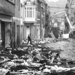 07 mai 2013 : vision d'apocalypse dans la rue de la sauvenière.