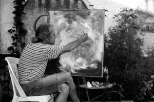 Le peintre spadois Agus Fortunato