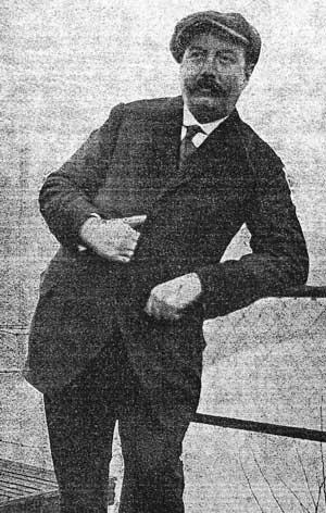 Amédée Hesse (Extrait de Spa-Saison du 25 juillet 1920)