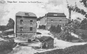 Arbespine - La Grande Fontaine, une des sources du ru de Chawion