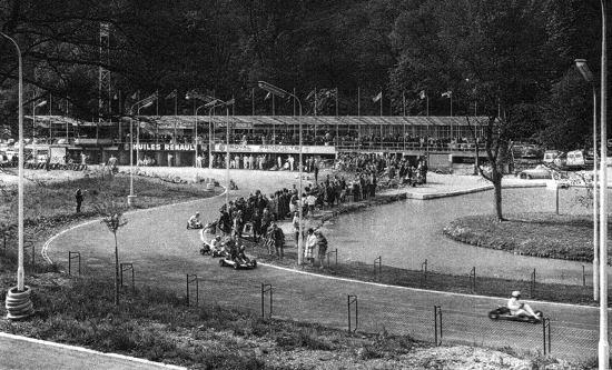 1960 : Course de Karting sur le circuit de Bagatelle