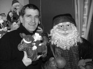 Baudouin Jourdan collectionne les Pères Noël