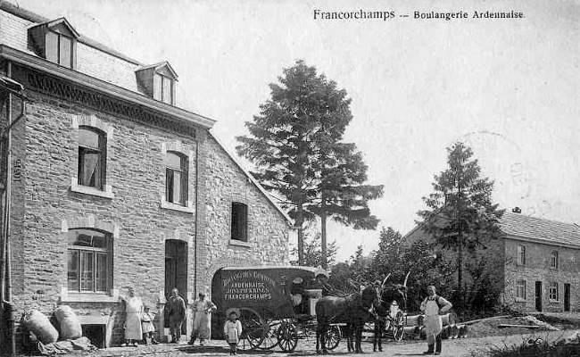 Carte postale: 1900: La boulangerie Ardennaise de Joseph Krings-Marmus