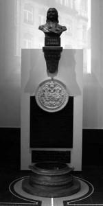 le buste de Pierre Le Grand