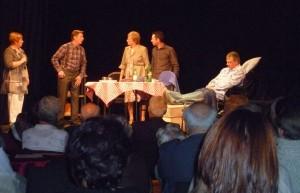 Centre culturel de Spa : en 2011 : cabaret wallon Dohogne, J. Baronheid, L. Adrien, G. Dohogne R. Goffin