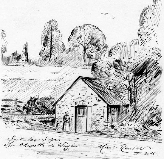 1900: La Chapelle du Wayai ou Chapelle Sainte Apolline