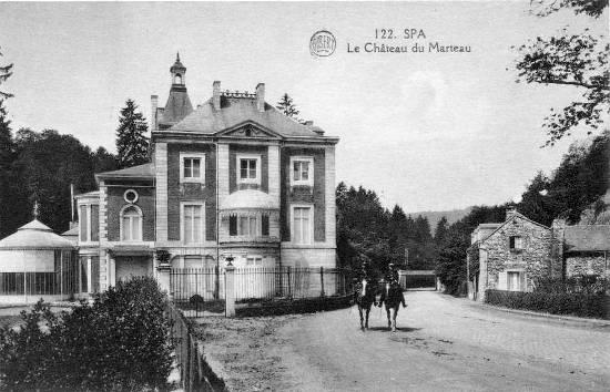 1910 : Château de Marteau (carte postale)