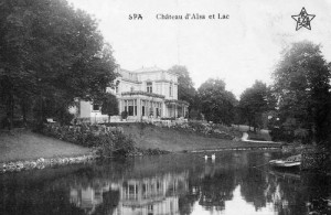 1910 : Le château d'Alsa (carte postale)