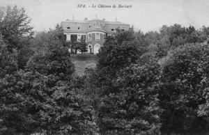 1905 : Le château de Barisart (carte postale)