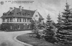Le château du Haut-Neubois en 1920 (carte postale collection M. Hans)