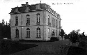 1910 : Le château Montplaisir (carte postale)