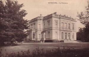 Château de La Fraineuse à Nivezé-Spa (carte postale)