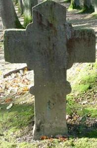 La croix brognard près de l'actuel golf club.