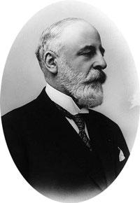 Le sénateur Edouard Peltzer en 1900