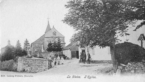 Carte postale 1910: l'église Notre-Dame de l'Assomption