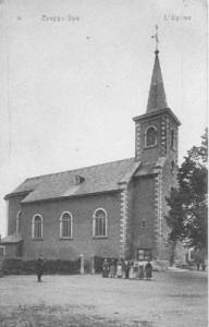 L'église Saint Joseph datant de 1860 (carte postale)