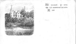En-tête des lettres de Georges d'Artet pour sa correspondance privée écrite à Nivezé (collection X. Coibion)