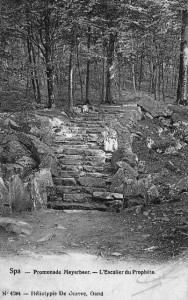 Promenade Meyerbeer : l'escalier du Prophète