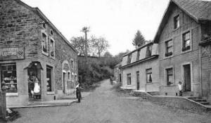 L'épicerie de Lucie Detiste située au lieu-dit «le Fagnou» (carte postale)