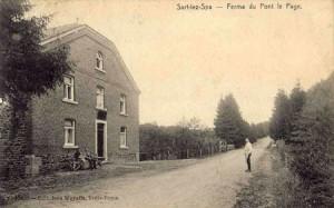 La ferme du Pont le Page (carte postale)