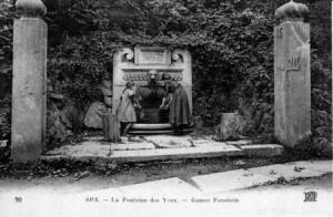 La Fontaine des Yeux en 1912