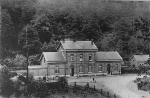 La gare de La Reid (carte postale)