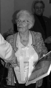 Gisèle Huberty  « Comité du Souvenir Patriotique de la Ville de Spa »