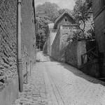La rue en 1905… en parfait état. Elle a belle allure.