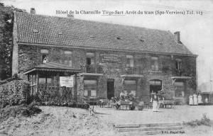 1912 : L'hôtel de la Charmille (carte postale)
