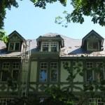 2014 : Les dégradations de l'hotel du Golf à Balmoral (toiture)