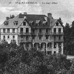 Sur cette carte postale, on découvre l'arrière de l'hôtel. Notez que la carte fait mention de  Spa-Extension comme situation géographique de l'hôtel.