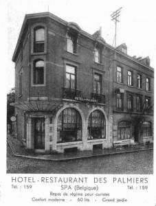 L'hôtel Palmier